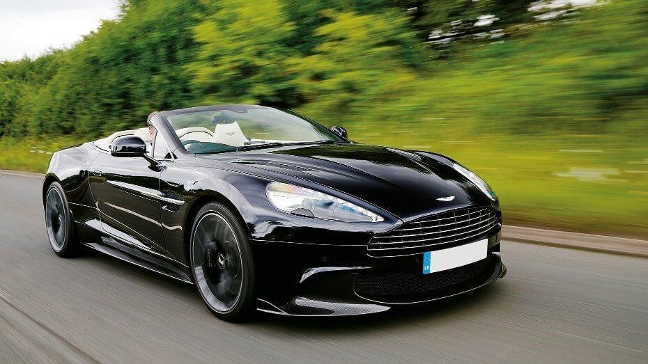 Aston Martin Vanquish Volante Europe Prestige Car Rent